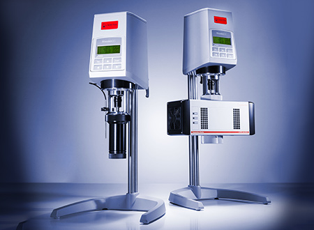 The RheolabQC temperature accessories cover a temperature range from -20 °C to +180 °C.