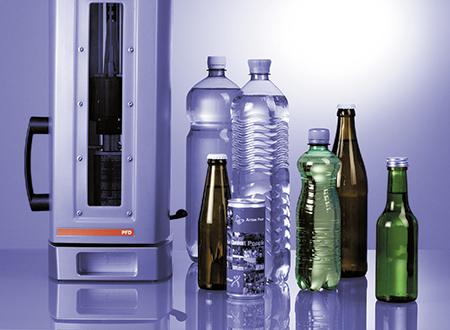 为了直接从 PET 瓶、玻璃瓶或易拉罐中将样品安全可靠地进样到样品槽中,安东帕的 CO2 和 O2 计量仪与 PFD 穿刺进样装置组合在一起。