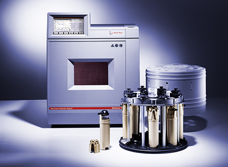 The acid digestion rotor 8NXQ80 provides maximum microwave digestion performance - even for highly inhomogeneous and difficult samples. The system's unique technical properties ensure safe and economic operation.