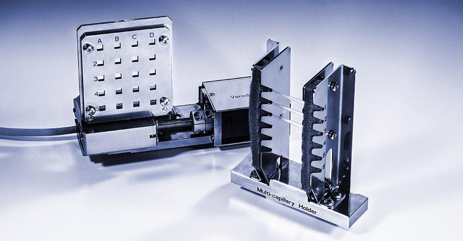 适用于单个和多个液体和固体样品的样品槽