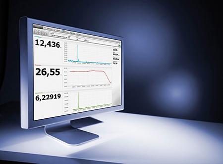 DPRn 监控器使用 Davis 5 软件显示值和图表